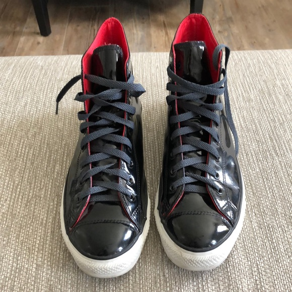 Converse Chuck Taylor Patent Leather High